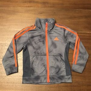 Adidas Zip Up Jacket. Size 3T.